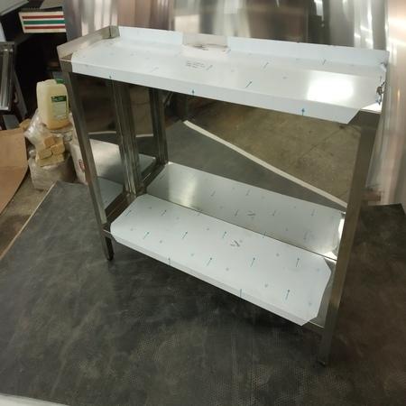 стол производственный с двумя бортами