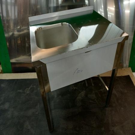 ванна моечная с рабочей поверхностью